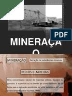 riscos da mineração
