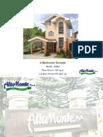 VIEW AV PRESENTATION * GRANDE Series H & L at Alta Monte Tagaytay is Pre-Selling
