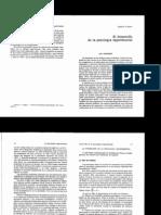 II-1- El Desarrollo de La Psicologia Experimental