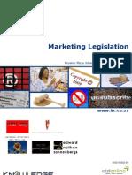 Marketing Legislation - Brochure Final