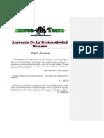 Fromm, Erich - Anatomia de La Destructivilidad Humana