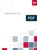 SPSS Conjoint 14.0
