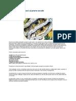 Pește umplut cu nuci și prune uscate