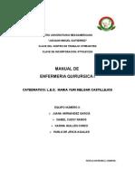 Manual Equipo Quirugico i