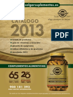 Catalogo Solgar 2013 WEB