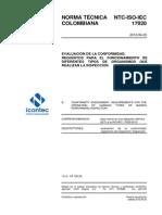 Ntc Iso Iec17020