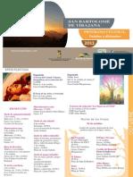 Programa Cultural 4º Trimestre 2013