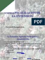 La Extensión Agrícola Participativa y comprometida