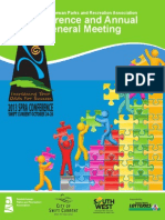 2013 SPRA Conference and AGM Brochure