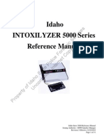 Idaho Intox 5000 Series Reference Manual Rev 1