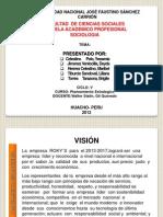 Diapositivas de Planeacion Estrategica(Empresa Rokis)