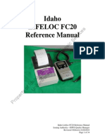 Idaho FC20 Reference Manual Rev 0