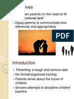 Parenting Presentation