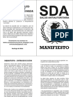 Manifiesto SDA