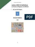 2009 Book Argentina 1935-51 Definitives