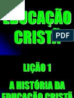 EDUCAÇÃO CRISTÃ1