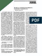 El transporte en la Ciudad de Mexico. Su funcionamiento contradictorio. - Berbardo Navarro.