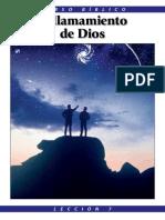 Lección 7 - El llamamiento de Dios