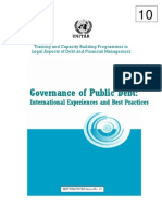 Public Debt Governance, By Tarun Das