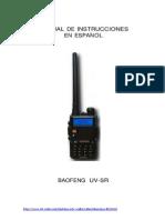 Manual de Instrucciones Baofeng UV5R Espanol