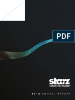 Starz 2012 Annual Report to Stockholders