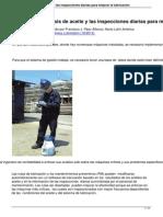 Usando El Analisis de Aceite y Las Inspecciones Diarias Para Mejorar La Lubricacion