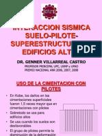 Interaccion Sismica Suelo-pilote-superestructura en Edificios Altos