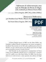 Leonel Pessôa e Pádua Fernandes [[2008]] - resenha Sofrimento de Indeterminação