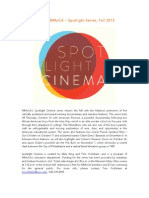 Spotlight Cinema - Fall 2013