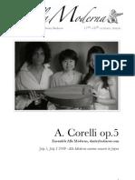 Alla Moderna, A.Corelli project
