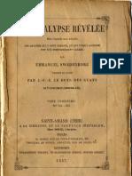 Em-Swedenborg-L'APOCALYPSE-REVELEE-TomeTroisième-1sur2-Chapitres-XVIII-XXII-Numeros-753-962-LeBoysDesGuays-1857