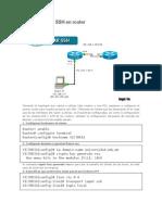 Configurando SSH en Paket Tracert