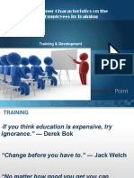 Training & Development Final