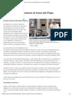 1338909295 Filtraciones Estremecen El Trono Del Papa Benedicto Xvi Univision Noticias