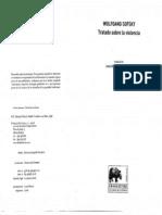 Sofsky, Wolfan - Tratado Sobre La Violencia