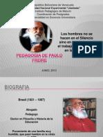 Presentacion de Paulo Freire Completo