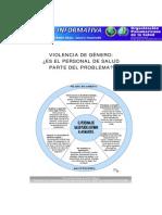 Violencia de Genero Personal de Salud