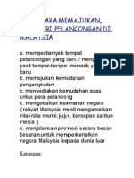 Contoh karangan bm pmr