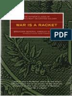 BUTLER - War is a Racket