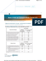 Codigos de Movimentacao e de Saque Do FGTS