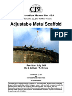 Cm43A Adjustable Metal Scaffold