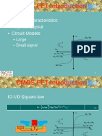 CMOS FET Introduction