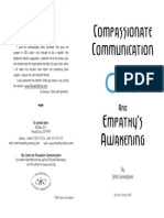 Compassionate Communication and Empathy's Awakening Booklet - Nonviolent Communication