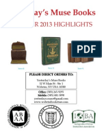 Yesterday's Muse Books, ABAA