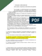 Atividade Complementar - Farmacognosia II