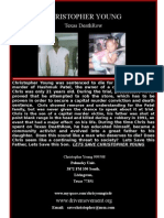 Christopher Young Tx deathrow flyer