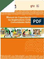 Manual RRCC Comunidades Nativas