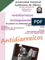 Exposicion Antidiarreicos y Antiespasmodicos