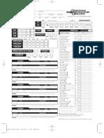 D&D 3.5 - Ficha de Jogador