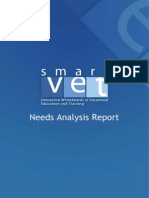 Needs Analysis Research Report _SmartVETproject
